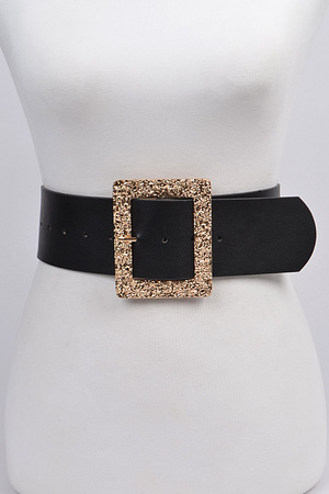 Glitter Rectangle Belt.