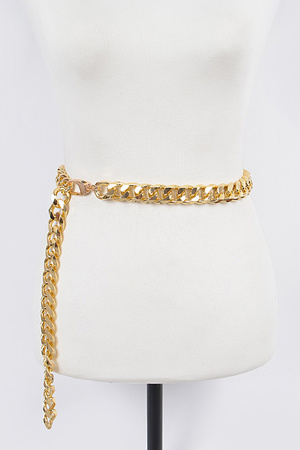 Cross Chain Drop Belt