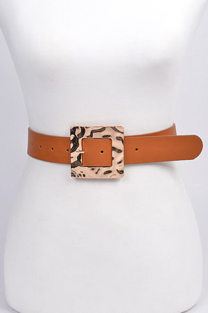 Rectangle Camo Style Belt