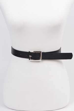Simple Is The Best Belt