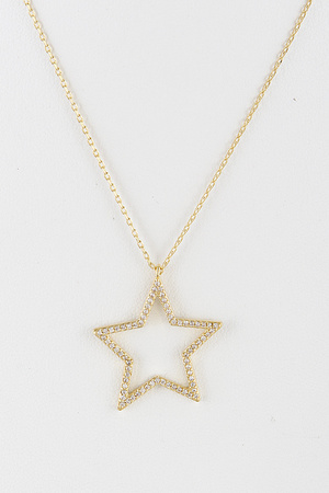 Elegant Luxury Star Necklace 9EAC8
