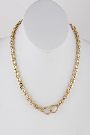 Chain Link Necklace 9ICA1