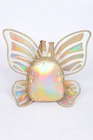 Shiny Butterfly Inspired Unique Backpack.