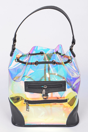 Rock and Roll Clear Backpack.