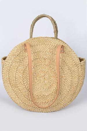 Summer Time Straw Bag.