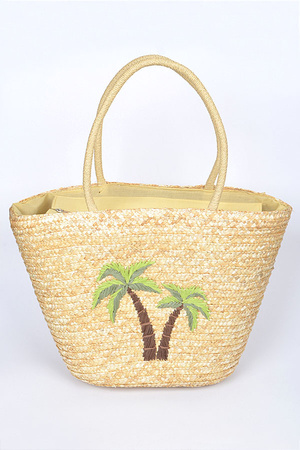 Two Palm Tree Summer Bag