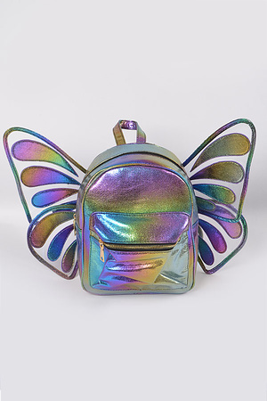 Butterfly Flashy Backpack.
