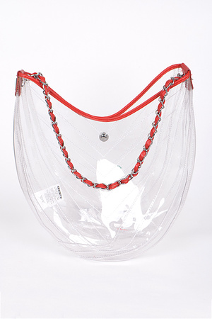 Fashionable Clear Bag