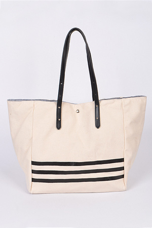Simple Bag With Lines