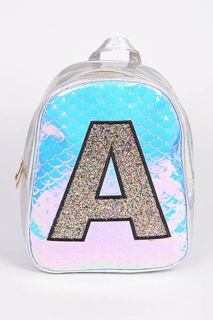 Cute A Letter Backpack