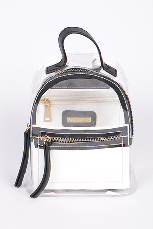 Very Cute Backpack With Zippers