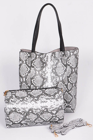 Two in One Animal Print Bag.