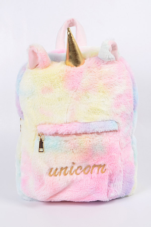 Unicorn Cotton Candy Backpack
