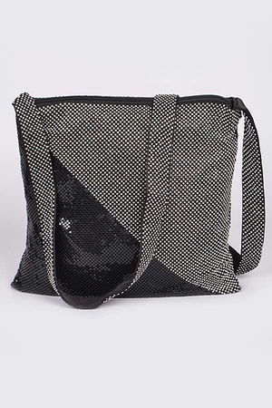 Bling Bling Metal Mesh Shoulder Bag