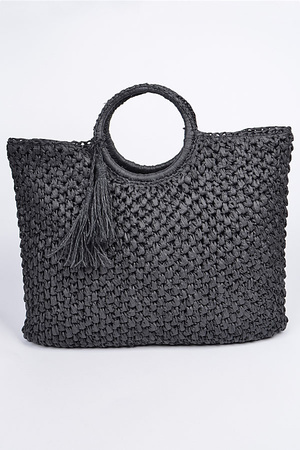 Basket Like Tote Bag.