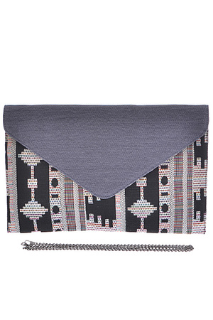 Stitched Up Envelope Clutch