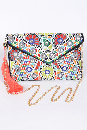 Multi color Clutch  For You
