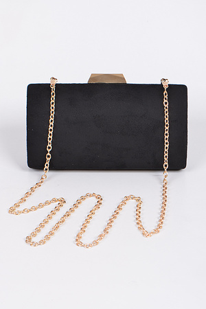 Plain Yet Fashionista Inspired Rectangle Clutch.