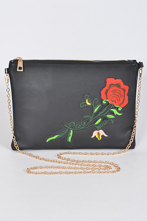 Lovely Rose Clutch