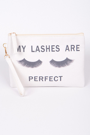 My Lashes Are Perfect Clutch