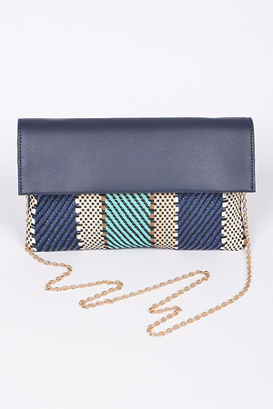 Your Mixed Aztec Designed Clutch