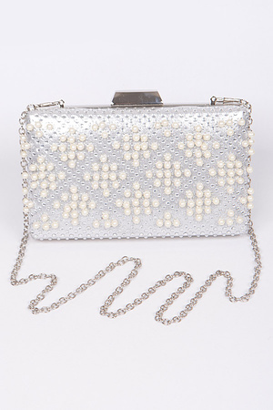 Fiesta Time Clutch With Pearl Details
