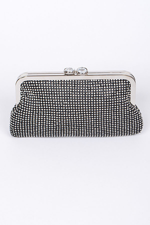 Fiesta Time Clutch With Chain Details