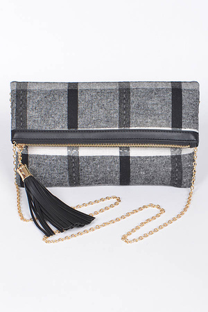 Tassel Casual Clutch