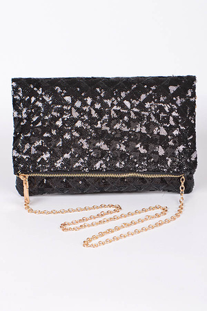 Shiny Sparkling Party Time Clutch