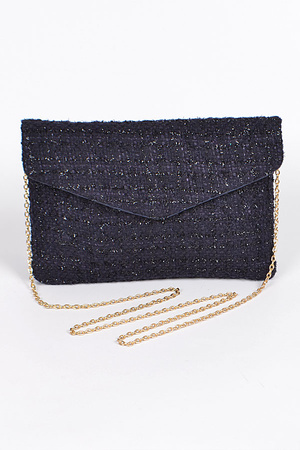 Envelop Clutch With Chain