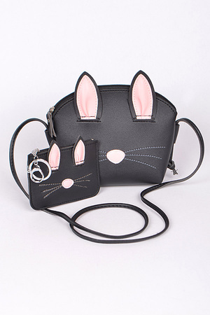 Two in One Kitty Clutch