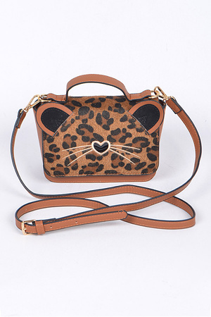 Cute Kitty Cross body Clutch