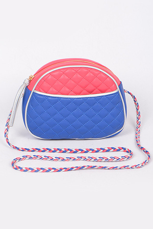 Quilted Fashion Clutch
