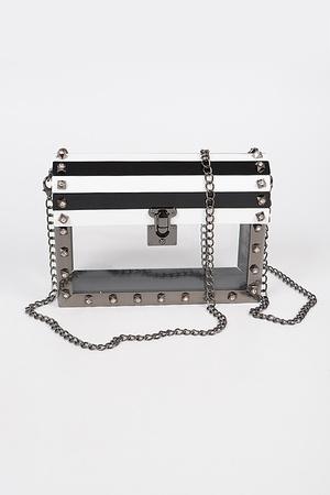 Iron Treasure Box Clutch.