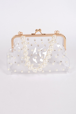 Clear Mini Purse Clutch.