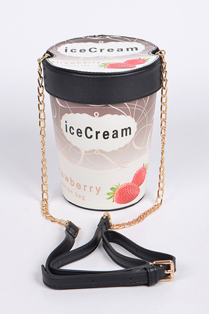 Strawberry Ice Cream Clutch
