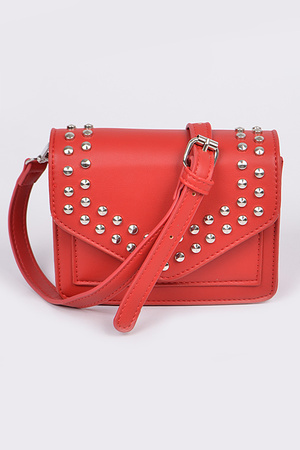 Studded Envelope Clutch