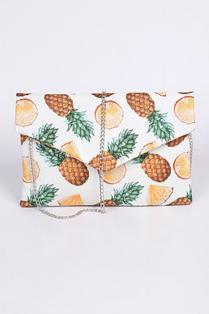 Pineapple Envelope Clutch