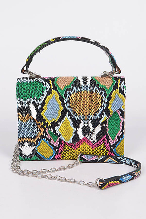 Multicolor Melt Clutch.