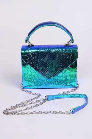 Under The Sea Metallic Clutch.