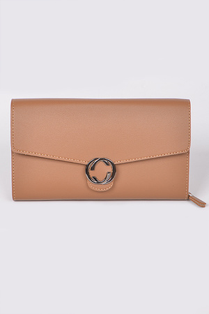 Elegant Daily Plain Wallet.