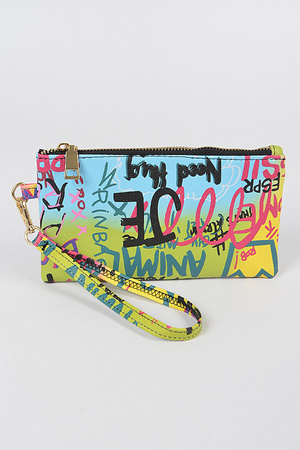 Graffiti Mini Purse