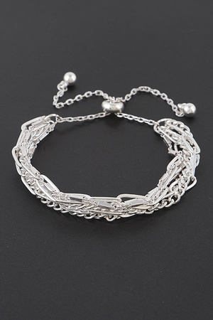 Multi Layered Chain Bracelet
