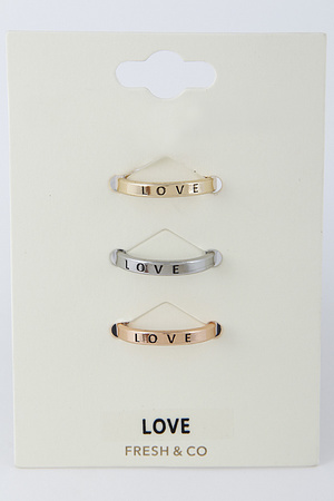 Love Ring Set 8DAB4