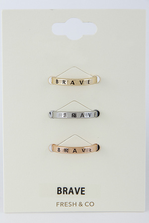 Brave Ring Set 8DAB4