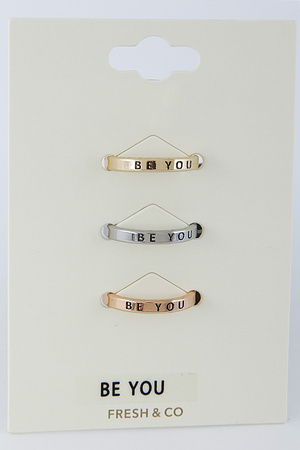 Be You Ring Set 8DAB4