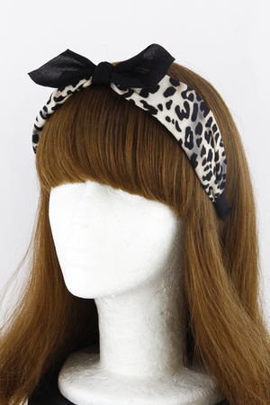 Tied Up Turban Printed Headband 9HCC