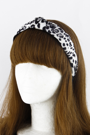 Animal Printed Turban Headband 9HCC
