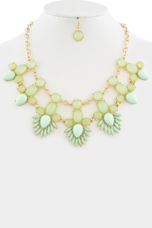 Fashion statement necklace 3LAD3