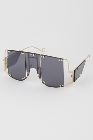 Exposed Frame Sunglasses